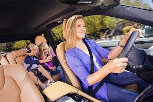 Comfortable interior car with window film